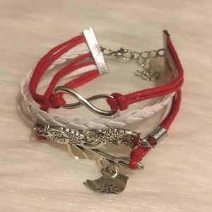 Jewelry - Multilayered Leather Charm Bracelet